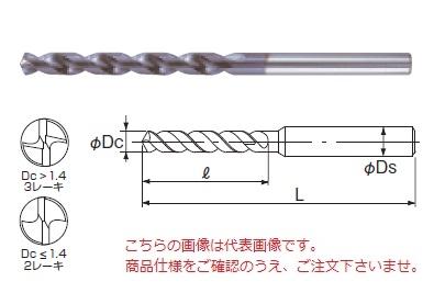 不二越 (ナチ) ハイスドリル AGSUSR13.5 (AG-SUS ドリルレギュラ)
