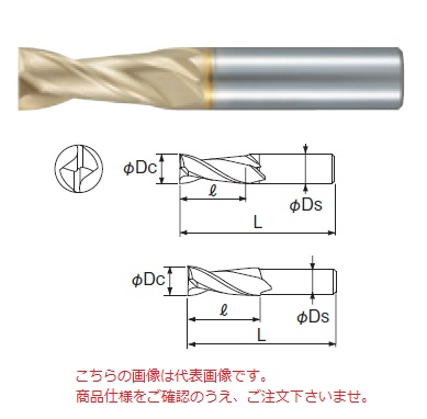 不二越 (ナチ) ハイスドリル SGEZ24.0 (SG フラットドリル)