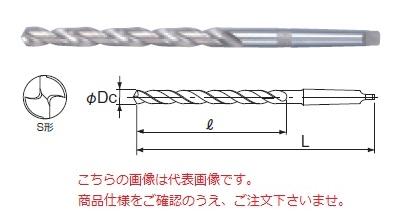 不二越 ハイスドリル LTD41.0X525 (テーパシャンクロングドリル)
