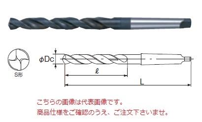 不二越 ハイスドリル TD45.4 (テーパシャンクドリル)