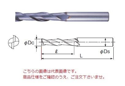 不二越 ハイスエンドミル 2AGEL22 (AG ミル 2枚刃ロング)
