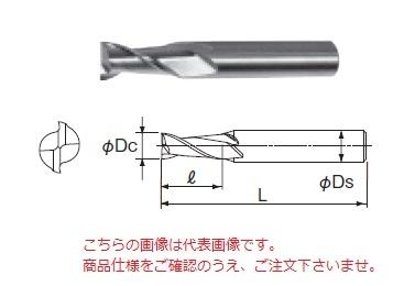 不二越 ハイスエンドミル 2NAC19.1 (ナタック 2枚刃)