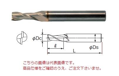 不二越 ハイスエンドミル 2SGE22 (SG-FAX エンドミル 2枚刃)