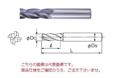 不二越 ハイスエンドミル 4AGE50X42 (AG ミル 4枚刃)
