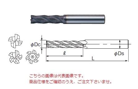 不二越 ハイスエンドミル AGREL22 (AG ミルラフィングロング)