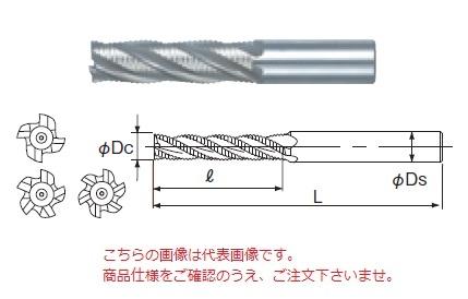 不二越 ハイスエンドミル LRE25 (ラフィングエンドミルロング)
