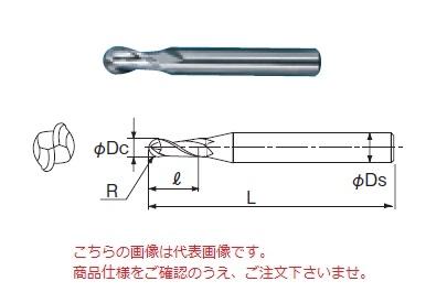 不二越 ハイスエンドミル RE15 (ボールエンドミル 2枚刃)