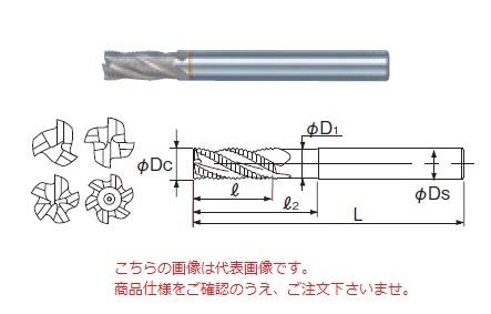 不二越 ハイスエンドミル SGFRE28 (SG-FAX ラフィングエンドミルショート)