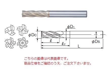 不二越 ハイスエンドミル SGFREM30 (SG-FAX ラフィングエンドミルミディアム)