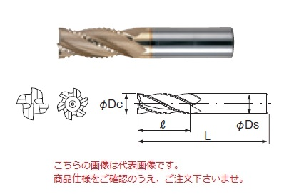 不二越 ハイスエンドミル SGHV29 (SG-FAX ヘビー)