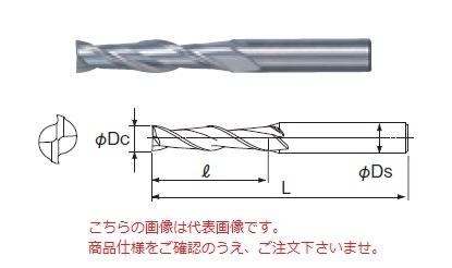 不二越 ハイスエンドミル SL2SE25 (スーパーハードロング 2枚刃)