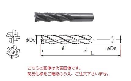 不二越 ハイスエンドミル SL6HV45X42 (ヘビーロング)