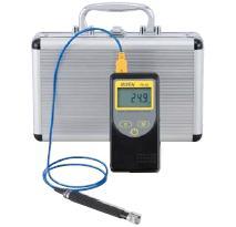 グローバルなお客様のニーズに迅速にそして正確にお応え!  FUSO(フソー) -50℃~+400℃表面センサ付高性能デジタル温度計セット FS-300S