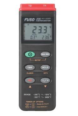 グローバルなお客様のニーズに迅速にそして正確にお応え!  FUSO(フソー) データロガー温度計(2チャンネル) FUSO-306