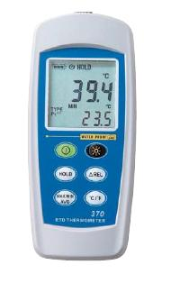 FUSO(フソー) 防水型デジタル温度計(IP-67対応)(2点式) FUSO-372