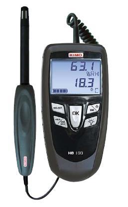 FUSO (フソー) 高性能デジタル温湿度計 HD-100S