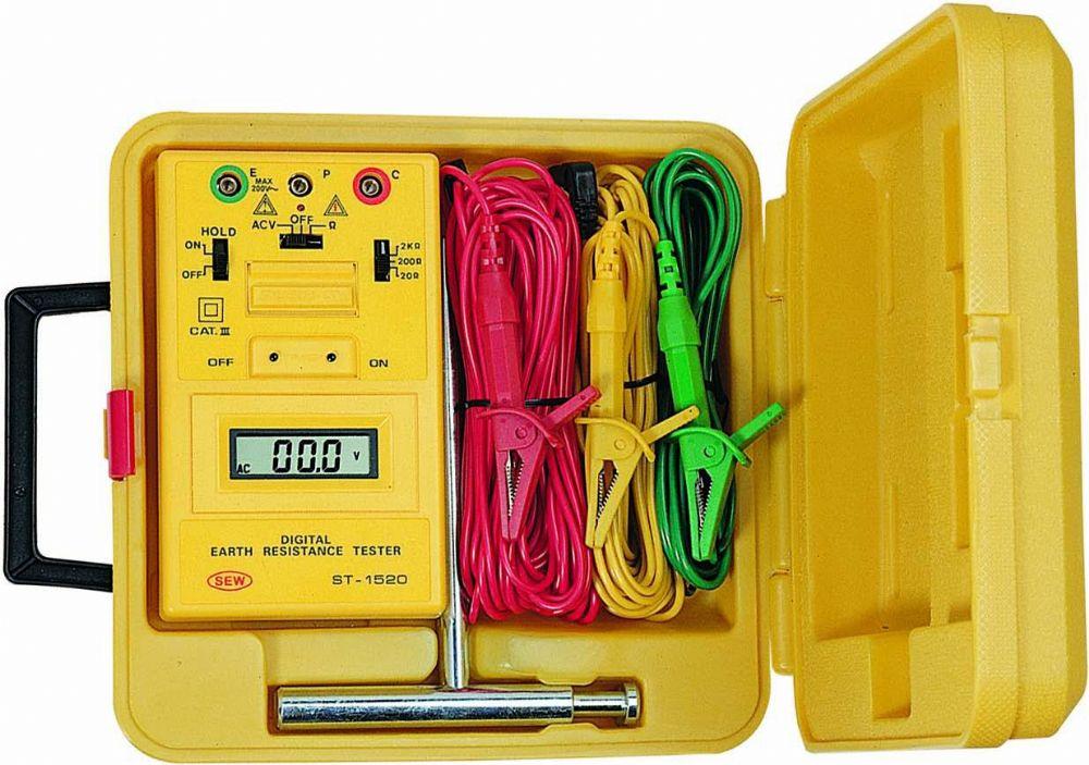 FUSO(フソー) デジタル接地抵抗計 ST-1520