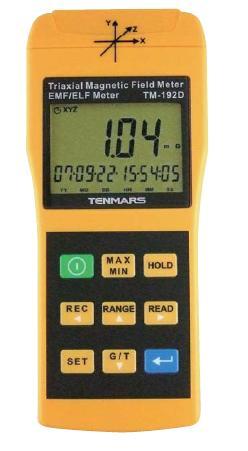 FUSO (フソー) データロガー付3磁界軸電磁波計 TM-192D
