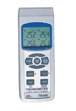グローバルなお客様のニーズに迅速にそして正確にお応え!  FUSO(フソー) 4chデータロガー温度計 TM-946