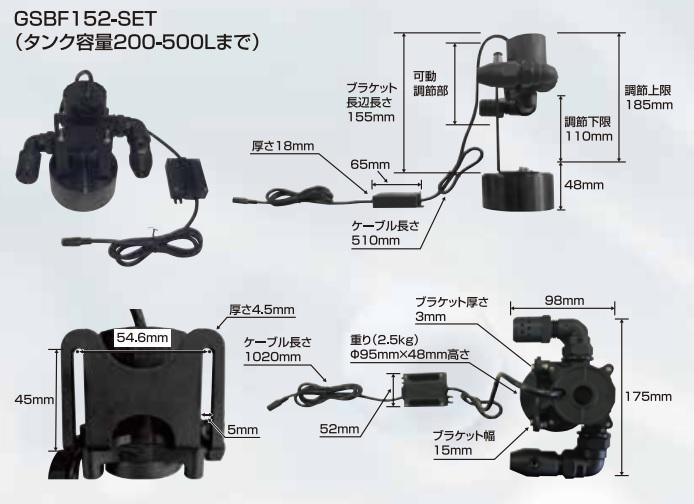 ギガ・セレクション ファインバルブ浄化装置 GSBF152-SET