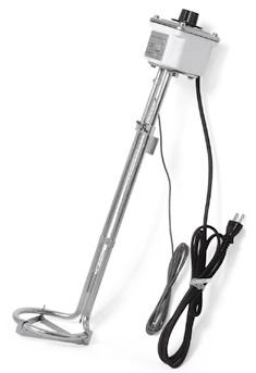 【直送品】 八光電機 温調付バケツ用ヒーター ACW4105 (1510100)