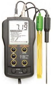 ハンナ pH/ORP計 HI 83141N
