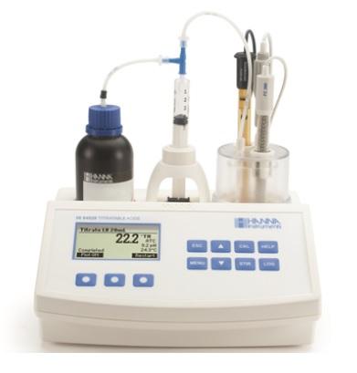 ハンナ 小型自動滴定器 HI 84529 (HI84529) (乳製品用)
