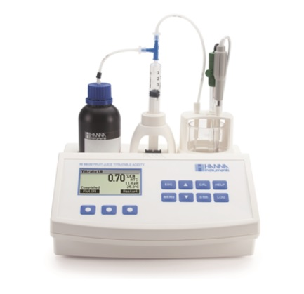 ハンナ 小型自動滴定器 HI 84532 (HI84532) (果汁用)