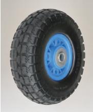 【直送品】 ハラックス タイヤ ノーパンクタイヤ TR-3.50-4N プラホイール《タイヤセット》 【送料別】