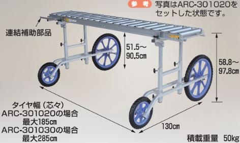 【代引不可】 ハラックス (HARAX) アルベア用移動フレーム ARC-2012N (別売部品) 【送料別】