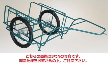 【直送品】 ハラックス スチールリヤカー スチール製リヤカー SSR-4NG (car-4ng) (合板パネル付) 【大型】