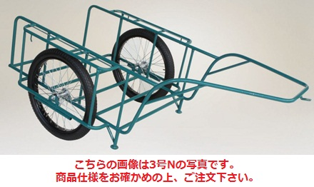 【直送品】 ハラックス スチールリヤカー スチール製リヤカー SSR-5N (car-5n) 【大型】