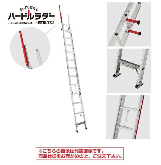 【代引不可】 長谷川工業 ハセガワ 2連はしご LTS2-59 (17332) 【メーカー直送品】