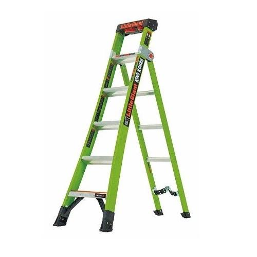 【直送品】 長谷川工業 ハセガワ FRPはしご兼用脚立 キングコンボ LG-13610 (17709) 【大型】