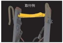 【直送品】 長谷川工業 ハセガワ 安全ベルト PLB-40 (18033) 《電工用オプション》