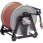 ハタヤリミテッド ガスリール 30mφ5.0 特殊合成ゴム製ツインホース(逆火防止器付) GDX-30Z (126-9160) 《ガス溶断用品》