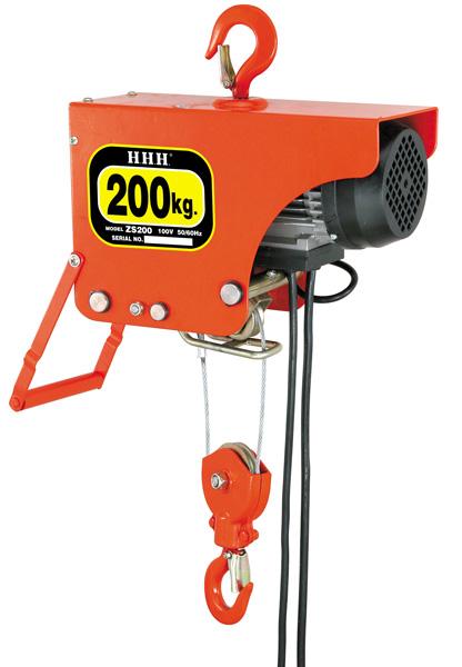 スリーエッチ H.H.H. 電気ホイスト ZS200