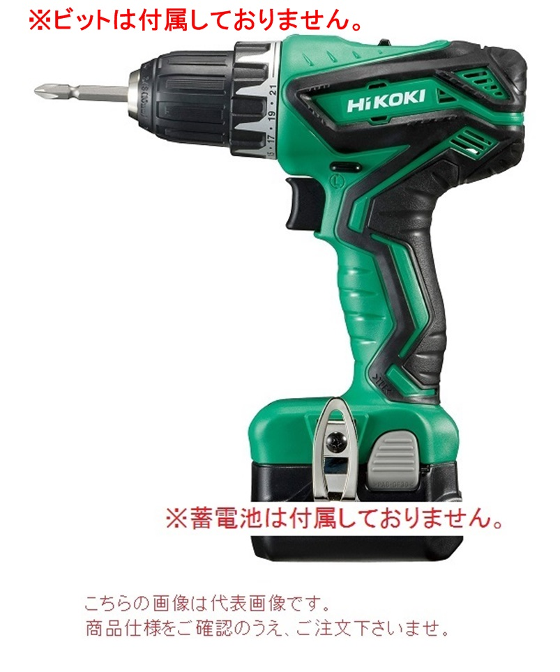 HiKOKI コードレスドライバドリル(本体のみ) DS10DAL(NN) (DS10DAL-NN) (蓄電池・充電器・ケース別売)