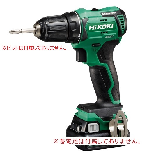 HiKOKI コードレスドライバドリル(本体のみ) DS12DD(NN) (DS12DD-NN) (蓄電池・充電器・ケース別売)