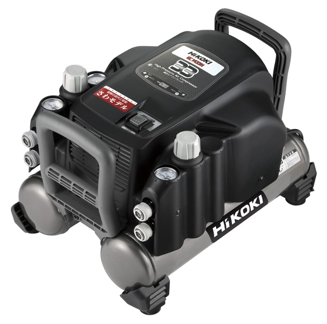 HiKOKI 一般圧専用エアコンプレッサ EC1433H(N) (EC1433H-N) (一般圧釘打機用)
