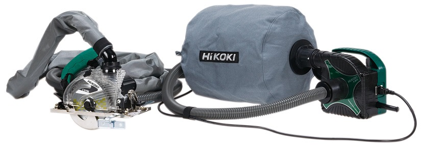 メーカー直送 日立工機は新ブランド名 HiKOKI ハイコーキ に 訳あり品送料無料 丸のこ集じんセット RSC5YB3 S RSC5YB3-S 石こうボード用チップソー付
