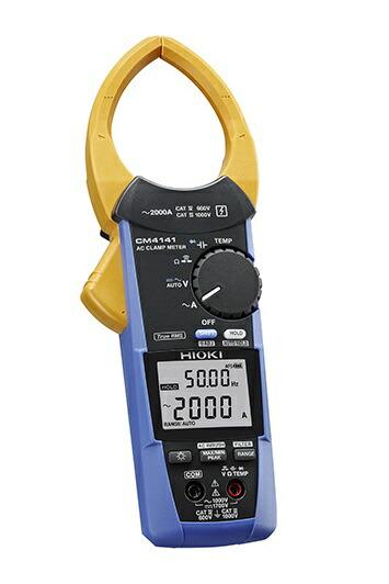 圧倒的な挟みやすさ 蔵 日置電機 CM4141 ACクランプメータ 予約