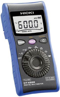 日置 (HIOKI) デジタルマルチメータ DT4222 (汎用)
