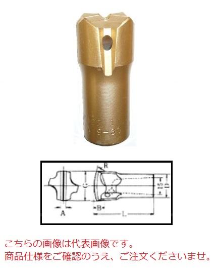 【直送品】 平戸金属 テーパークロスビット TX19-36 【法人向け、個人宅配送不可】(19H 36mm)