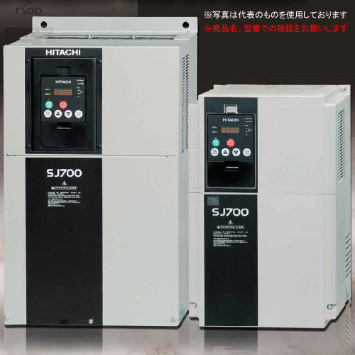 日立産機 インバータ SJ700-037LFF2 (1622-8190) SJ700シリーズ 三相200V級