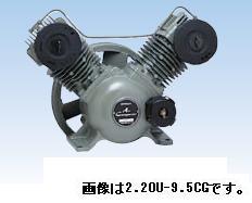 【直送品】 日立 コンプレッサー 2.2OU-9.5CG オイルフリーベビコン