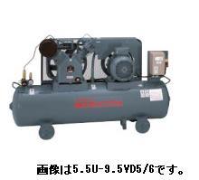 【代引不可】 日立 コンプレッサー 5.5P-9.5VP5 ベビコン 圧力開閉器式 【メーカー直送品】