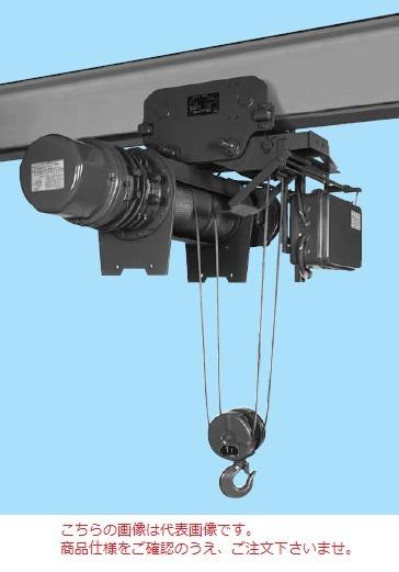 【直送品】 日立 ローヘッド形ホイスト Vシリーズ 5t/揚程 6m (5L-T55) (電動トロリ付)