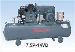 【代引不可】 日立 コンプレッサー 7.5P-14VP5 中圧ベビコン 圧力開閉器式 【メーカー直送品】