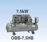 【直送品】 日立 コンプレッサー OBB-7.5HP5 ブースタベビコン オイルフリー